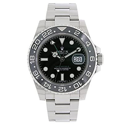 Rolex GMT Master II Automatic-self-Wind Male Watch 116710 (Certified Pre-Owned) by Rolex