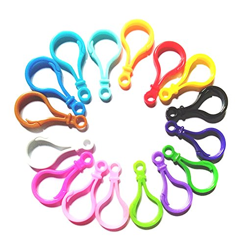 Mixed Plastic Backpack Clasps