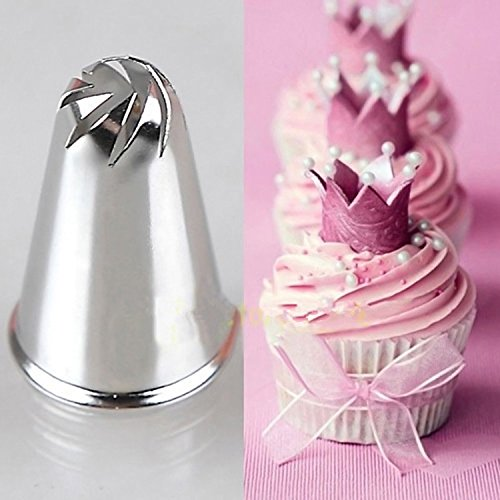 JD Million shop 1 Pc New Flower Spiral Icing Piping Tips Nozzle Cake Cupcake Decorating Pastry Tool ZH813