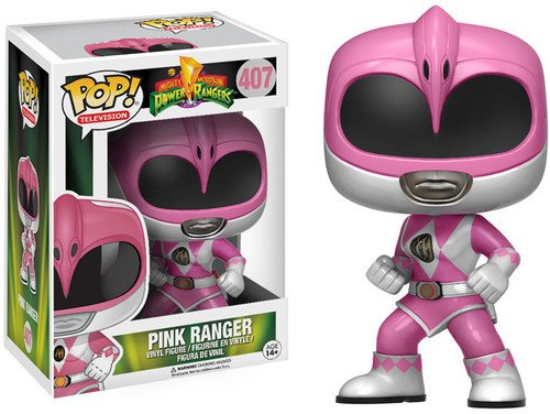 Funko POP Television: Power Rangers Action Figure, Pink -