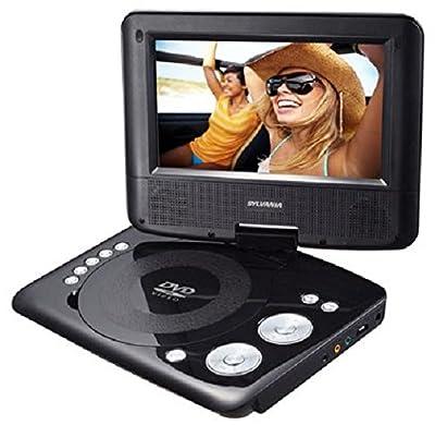 Sylvania Portable DVD Player. 7 Swivel Screen by Sylvania