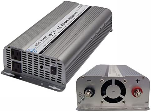 AIMS Power PWRB2500 Modified Sine Wave Value Power Inverter, 2500 Watt, 12 Volt