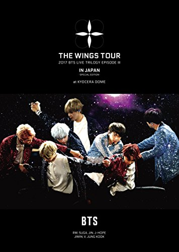 BTS (방탄소년단)  2017 BTS LIVE TRILOGY EPISODE III THE WINGS TOUR IN JAPAN ~SPECIAL EDITION~ at KYOCERA DOME 교세라돔 (첫 한정반)[DVD]