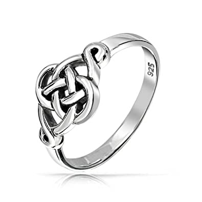 rings sterling ring image infinity product knot silver celtic