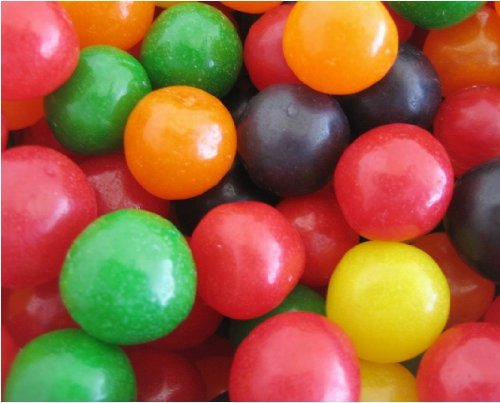 - Assorted Chewy Fruit Sour Balls - 5lb Bag