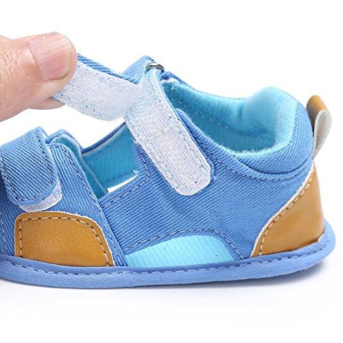 Sandalias De Bebe,BOBORA Prewalker Zapatos Primeros Pasos Para Bebe Las Sandalias Del Nino Del Bebe Del Ocio Masculino A2
