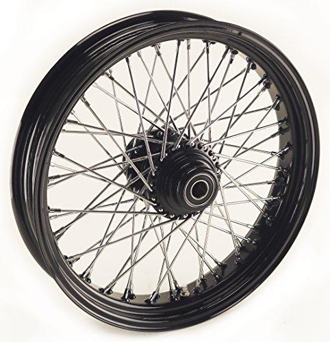 Ultima Black 60 Spoke Front Wheel, 23