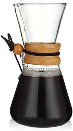 CUHAWUDBA 600 Ml Resistente Al Calor Vaso De Café Cafetera ...