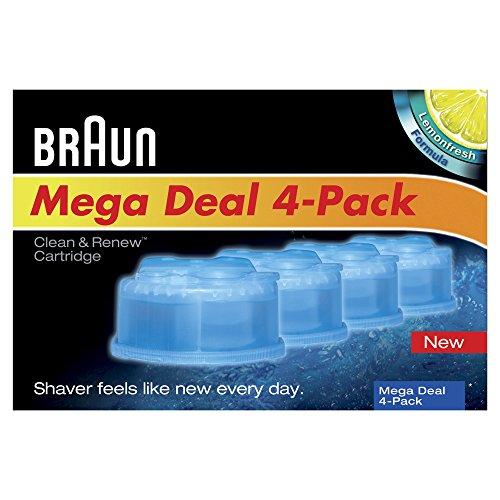 braun clean and renew cartridge refills 4 count braun. Black Bedroom Furniture Sets. Home Design Ideas