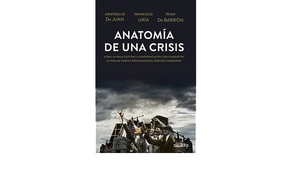 Anatomía de una crisis: Cómo la mala gestión y la injerencia política cambiaron la vida de todos y provocaron el rescate financiero eBook: Aristóbulo de ...