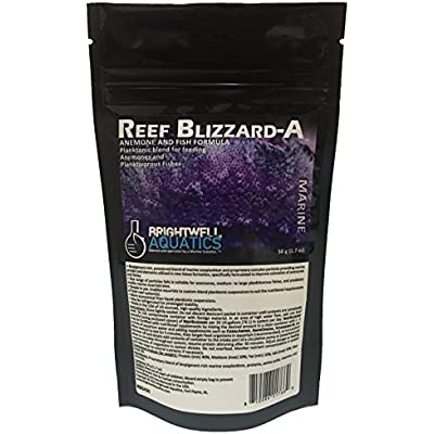 Brightwell Aquatics Reef Blizzard-A Powdered Planktonic Food Blend for Anemones & Planktivorous Fishes