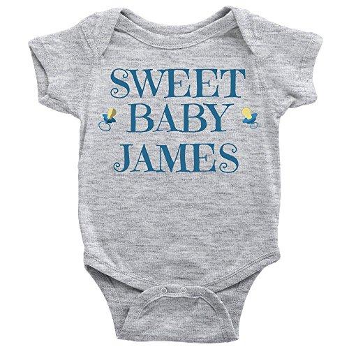 TAYEGU Sweet Baby James Onesie (Sweet Baby James)