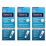Monistat Complete Care Instant Itch Relief Cream - 3 Pack
