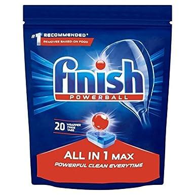 Todo terminar en 1 Max Pastillas lavavajillas 20 por paquete ...