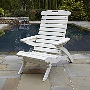Uwharrie Chair Company Epic Collection Adirondack Chair - Poly - Coffee