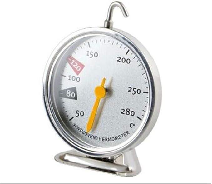 Higrometro Digital Termometro Higrometro Digital Relojes Jardin Hogar Herramientas Para Hornear Horno Doméstico Termómetro Acero Inoxidable Alta Temperatura Medición Precisa De Temperatura: Amazon.es: Bebé
