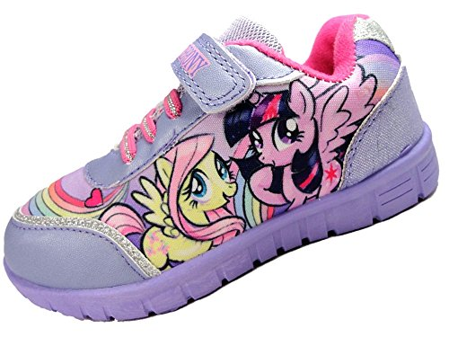Mi Little Pony Girls Lilac Trainer Zapatos