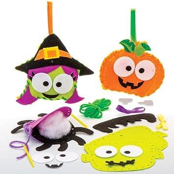 Baker Ross Kits de Costura de Halloween Decoraciones y Manualidades Infantiles (Pack de 4).: Amazon.es: Juguetes y ...