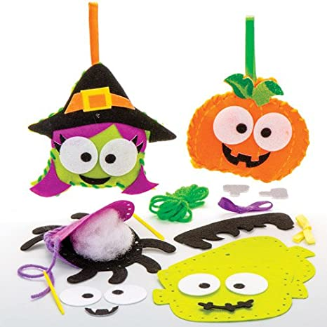 Halloween Per Bambini.Kit Da Cucito Di Halloween Per Bambini Perfetti Per Creazioni Fai