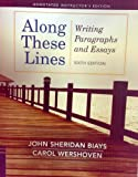 Along These Lines, John Sheridan Biays and Carol Wershoven, 0205110185