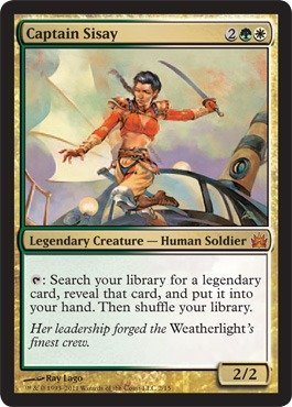 Magic: the Gathering - Captain Sisay - From the Vault: Legends - Foil by Magic: the Gathering