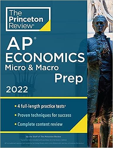Princeton Review AP Economics Micro & Macro Prep, 2022: 4 Practice Tests + Complete Content Review + Strategies & Techniques (2022) (College Test Preparation)