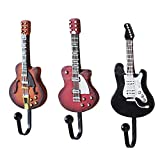 Set Of 3 Fashion Guitar Series Utility Creative Decorative Hooks