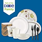 """Dixie Basic 9"""" Light-Weight Paper Plates by GP"""
