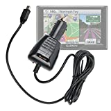 DURAGADGET Lightweight & Ultra-Portable Mini USB In-Car GPS Charger & Power Supply for the NEW Garmin Nuvi 57 LMT, 58 LMT, 67 LMT, 68 LMT And Garmin Camper 660 LMT-D