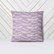Purple Witch And Wizard Nursery Decor Pillow Case Custom and Hand Made Just for You, Explore Now!