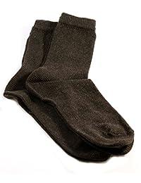 Hemp/Wool Socks for Men, Two Pairs, black