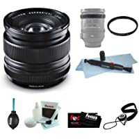 Fujifilm FUJINON XF 14mm F2.8 Lens Wide Angle Lens Bundle with Lens Band + 58mm Filter + Lens Cleaning Kit + Accessories