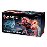 Magic The Gathering Core Set 2020 Deck Builder's Toolkit | 4 Booster Pack | 125 Cards | Deck Builder's Guide