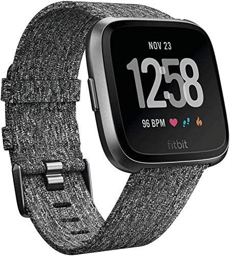 Montre Sport Fitbit Versa Graphite Special Edition (Renewed)