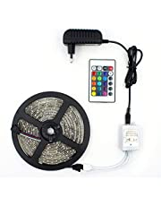 Fita LED RGB, Rolo 5m, com Controle Remoto