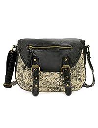 Scarleton Fabric Style Crossbody Bag H1913