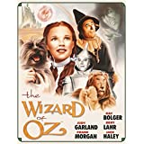 The Wizard of Oz Movie Group Color Tin Sign - 13x16