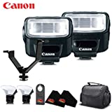 Canon Speedlite 270EX II International Version No Warranty (2-Pack) Accessory Kit