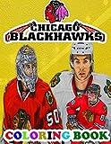 Chicago Blackhawks Coloring Book: Super coloring