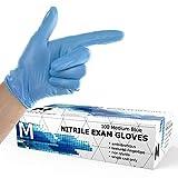 Powder Free Disposable Nitrile Gloves Medium -100
