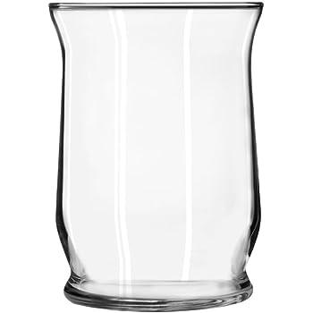 Amazon Com Libbey Adorn 8 Quot Glass Hurricane Vase
