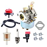 HIPA 632334A Carburetor Primer Bulb for Tecumseh 632334 632111 HM80 HM70 HMSK80 HMSK90 John Deere AM108405 Toro 824 824XL 828 Snow Blower Thrower