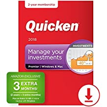 Quicken Premier 2018 – 27-Month Personal Finance & Budgeting Software [PC/Mac Download] – Amazon Exclusive