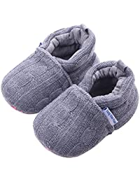 Baby Girls Loafers Knitted Cirb Shoes