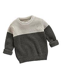 Binmer(TM) Toddler Girls Boys Kids Baby Sweater Knit Pullovers Warm Coat