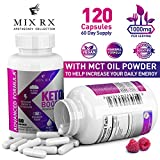 (2 Pack | 120 Capsules) Keto Pills with Carb