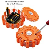 Twinkle Star 6 Pack LED Road Flares Flashing