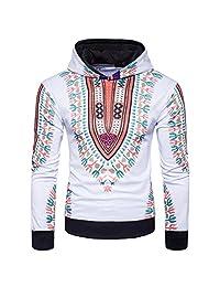 Boddenly Mens' 3D Print Casual Hoodie Hooded Sweatshirt Tops Jacket Coat Outwear