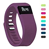 Fitness Tracker - Teslasz Bluetooth 4.0 Sleep Monitor Calorie Counter Pedometer Sport Activity Tracker for Android and IOS Smart Phone (Purple)