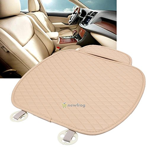 UNAKIM--Nice Breathable PU Leather Bamboo Car Seat Cover Pad Mat for Auto Chair Cushion